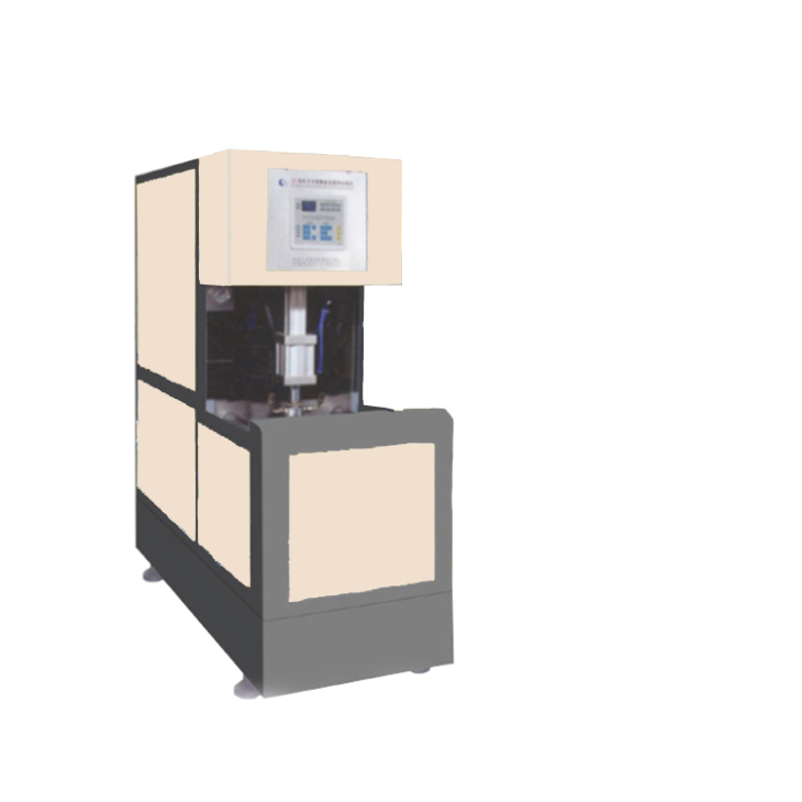 Semi-automatic 1 out 4 bottle blowing machine